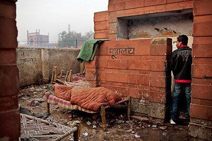 Жительница Индии поставила мужу ультиматум выстроить туалет
