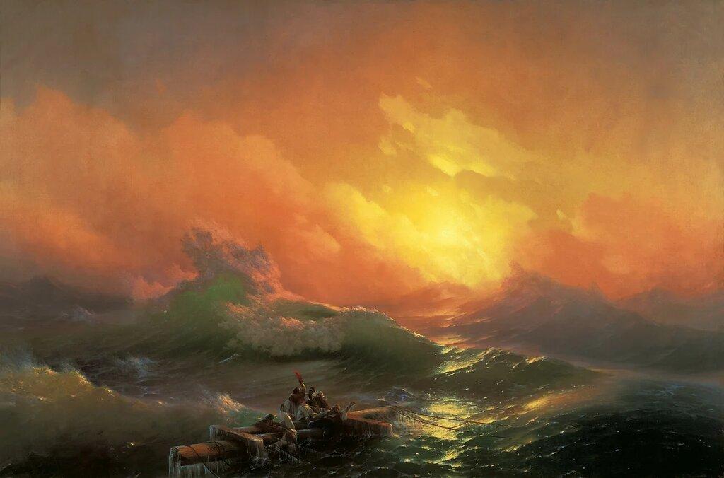 Айвазовский – повелитель морской стихии ( часть 2 ). :: Конец ...