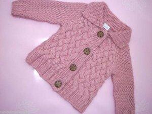 Уютная плетенка для красавицы девчонки