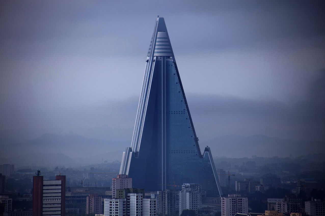 North Korea - Ryugyong hotel