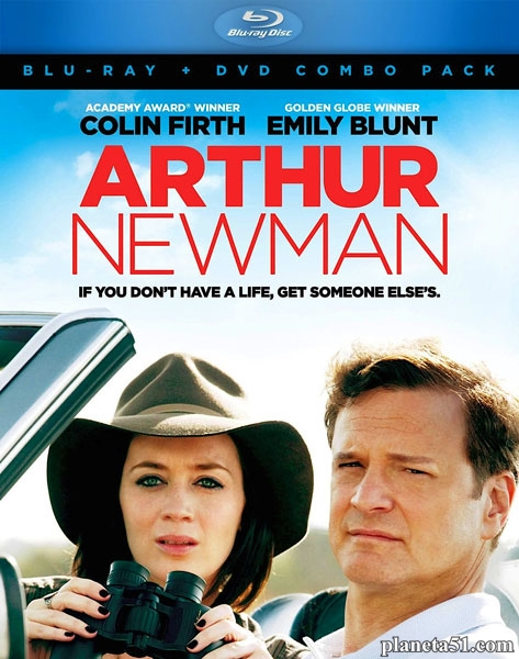 Артур Ньюман, профессионал гольфа / Arthur Newman (2012/HDRip)
