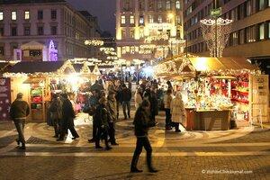 Рождественские ярмарки Будапешта