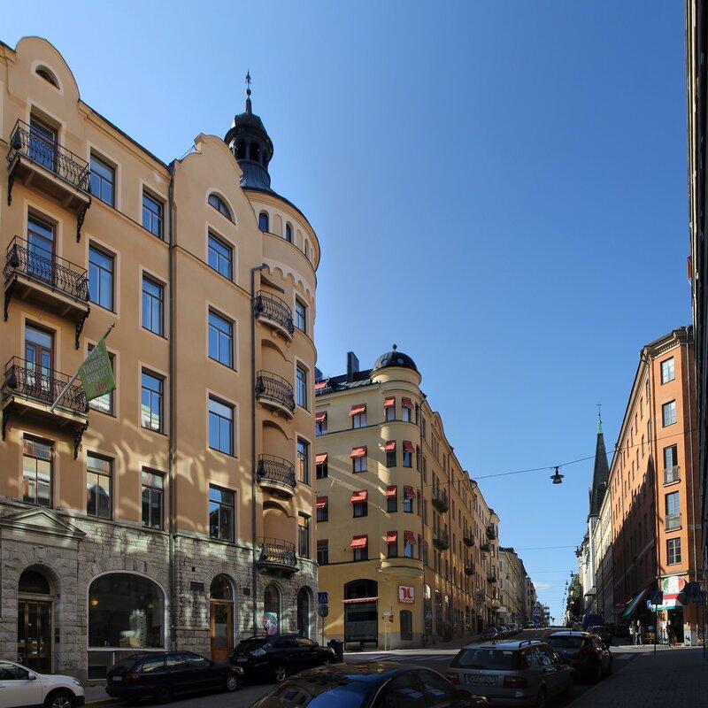 Стокгольм. Upplandsgatan