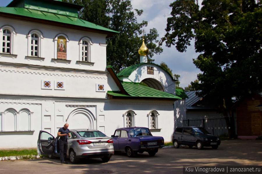 Северные ворота. Свято-Екатерининский мужской монастырь.