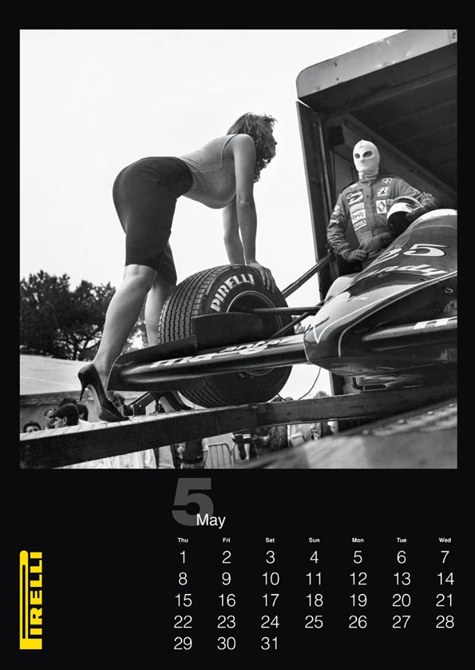 Юбилейный пятидесятый календарь Pirelli на 2014 год. Немного, но от самого Хельмута Ньютона! 14 фото