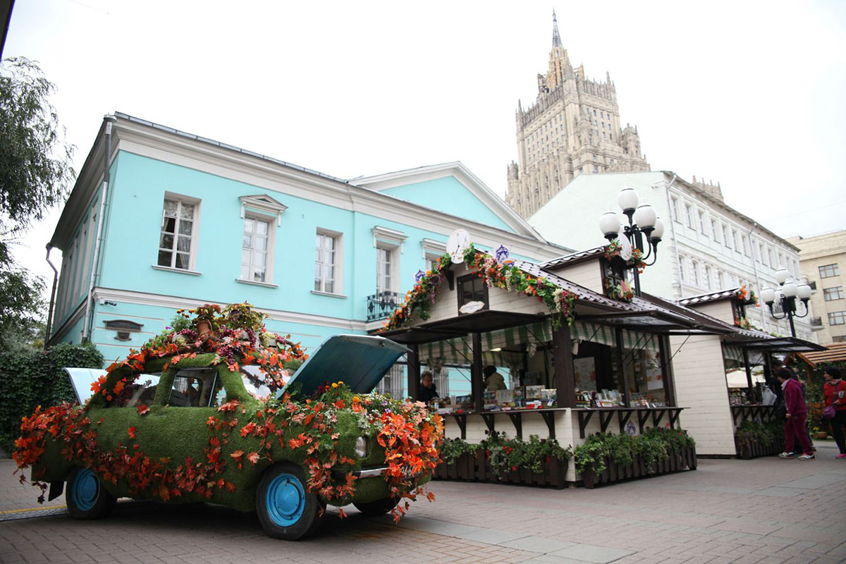 1. Фестиваль проходит на 36 площадках по всему городу. Продлится он до 11 октября.
