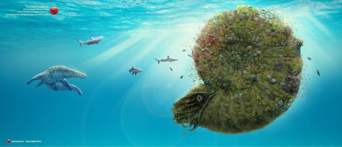 Считается, что Parapuzosia были пелагическими хищниками других океанических организмов. Они могли ес