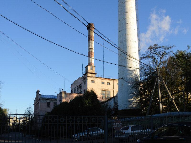 Электростанция на Персенковке