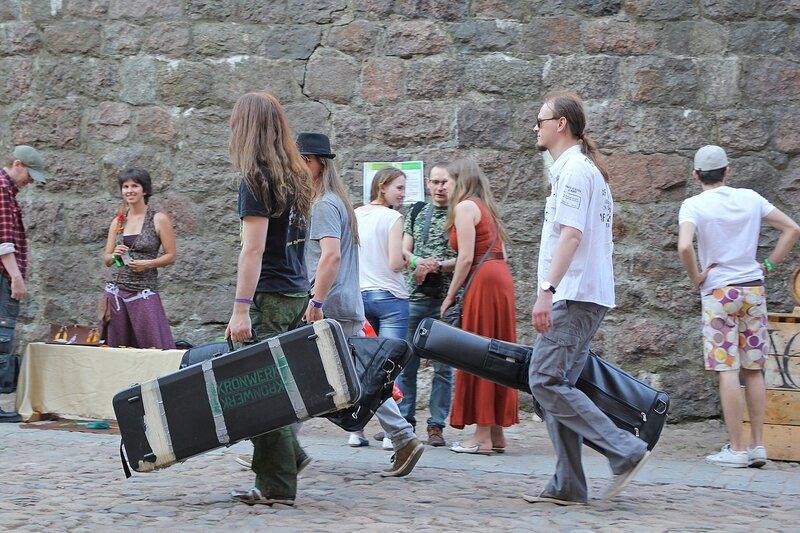 музыканты на фестивале «Майское дерево 2014»