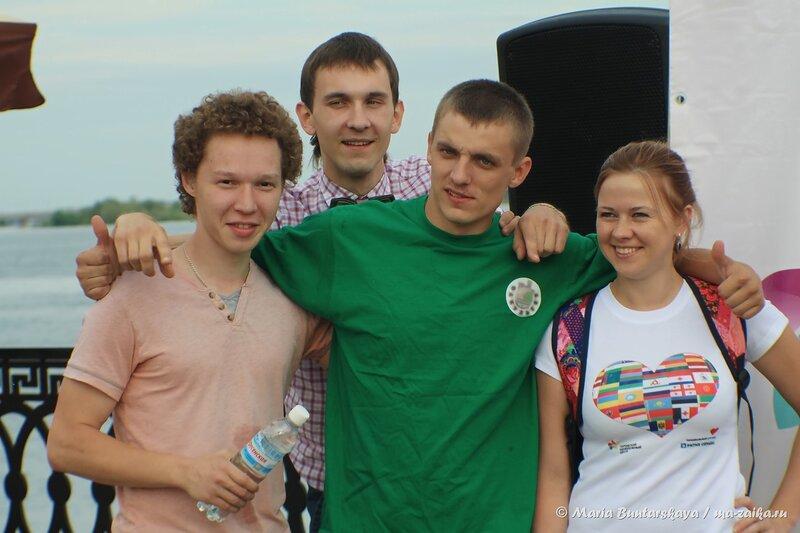 Прогулка по Набережной, Саратов, 26 июня 2014 года