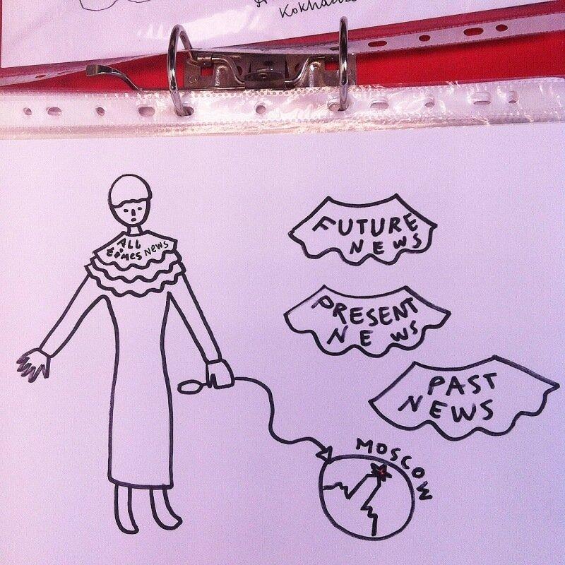 Алефтина Кохидзе и ее интерактивное телевиденье