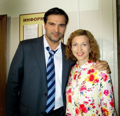 дьяченко александр фото с женой