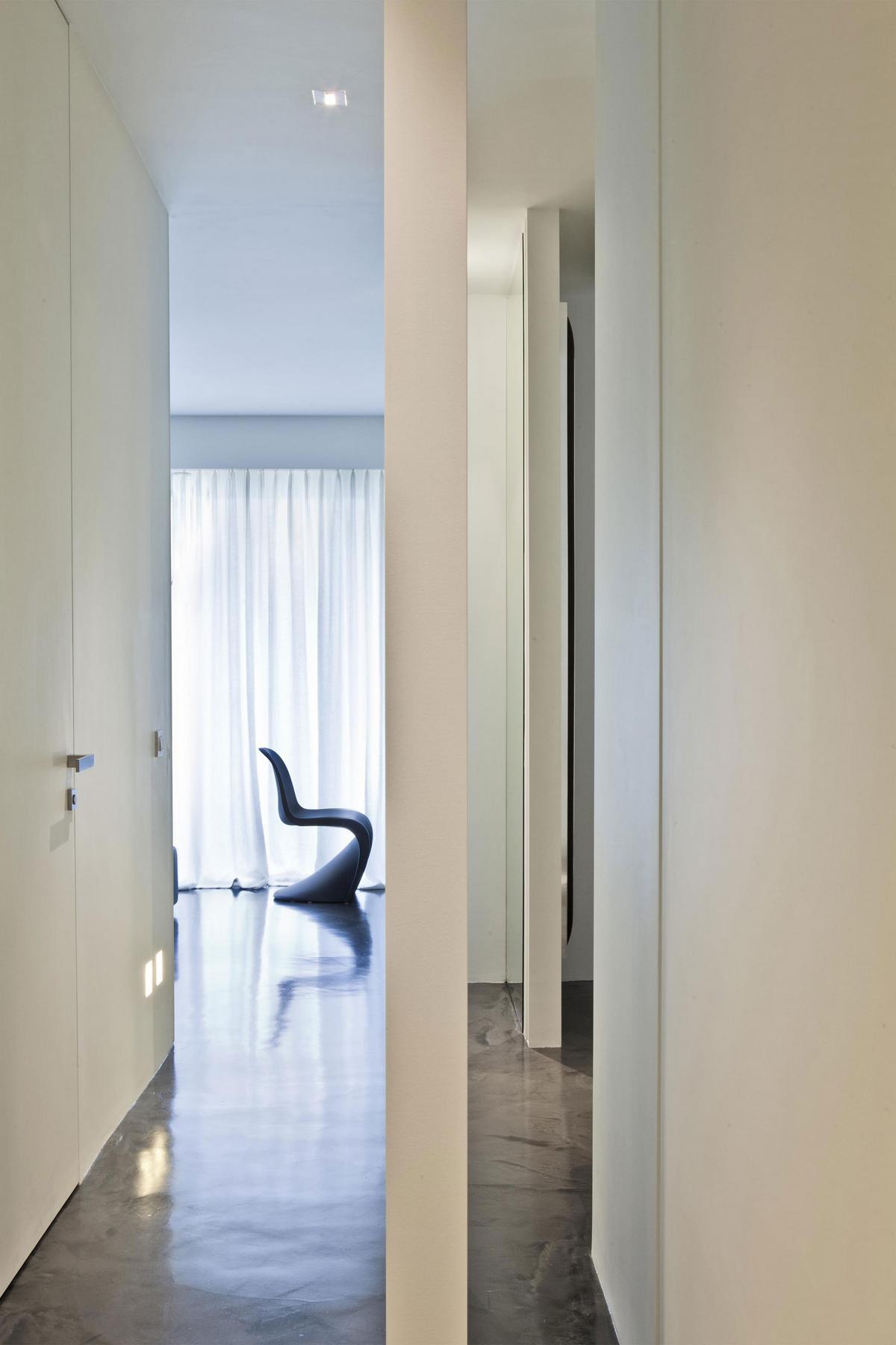 Квартира в МонтеКарло, квартира в Монако, жилье в Монако, Federico Delrosso Architects, дизайн квартиры минимализм, проект роскошной квартиры