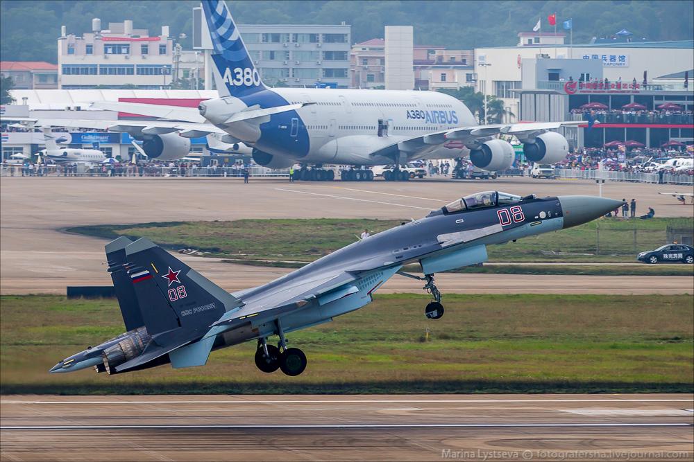 China Air Show 2014 второй день