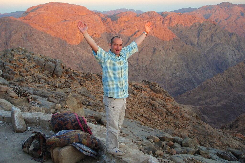Фотография 5. Наше восхождение на гору Моисея в Египте. Чувства переполняют и бьют фонтаном!