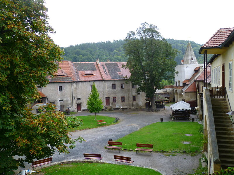 Чехия, замок Кршивоклат (Czech Republic, Křivoklát Castle)