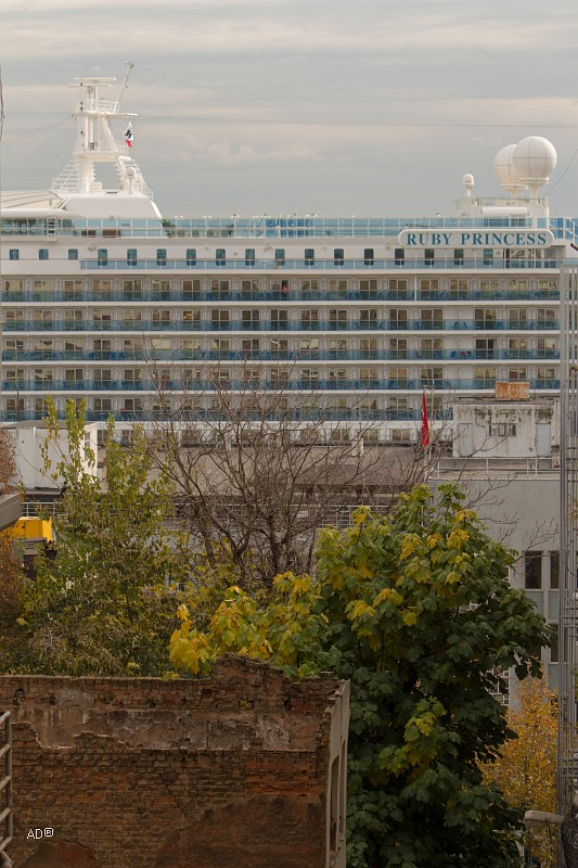Круизный лайнер «Ruby Princess»