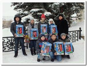 Из Уфы ребята вернулись с яркими впечатлениями и подарками. Сопровождала их З.С. Муратова.