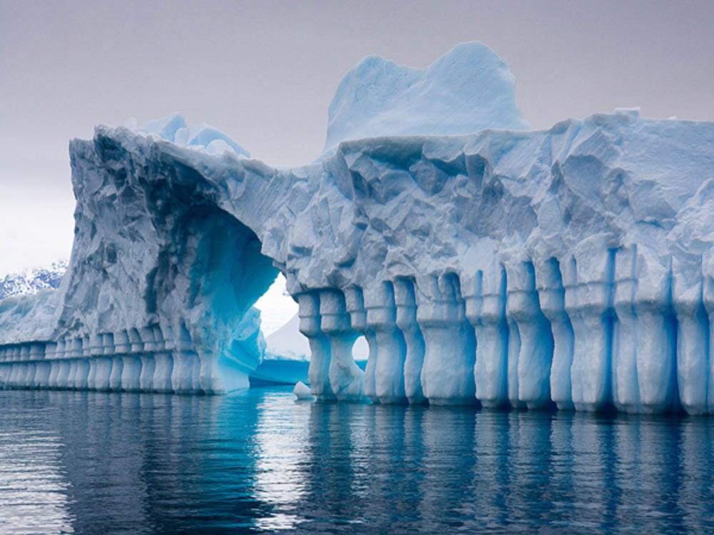 Stunning iceberg, Pleneau Bay, Antarctica