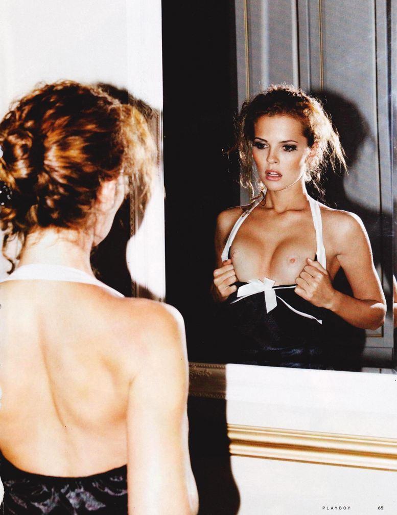 Девушки месяца Валерия Лахина и Ирина Бондаренко - Playboy Украина январь 2014