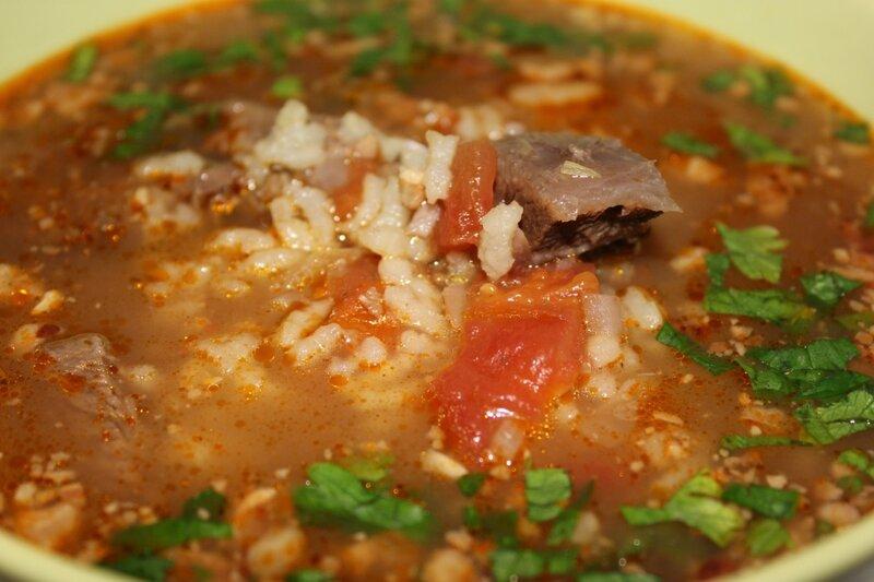 суп рисовый с говядиной рецепт