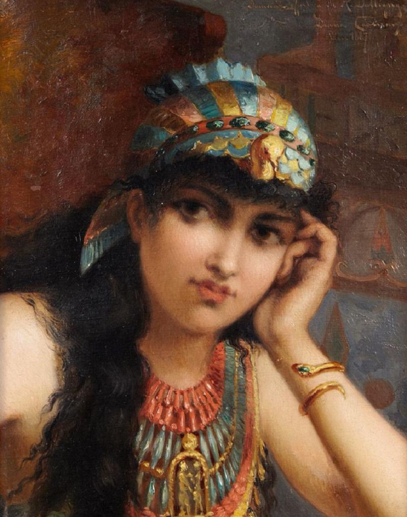 Portrait de femme , 1887