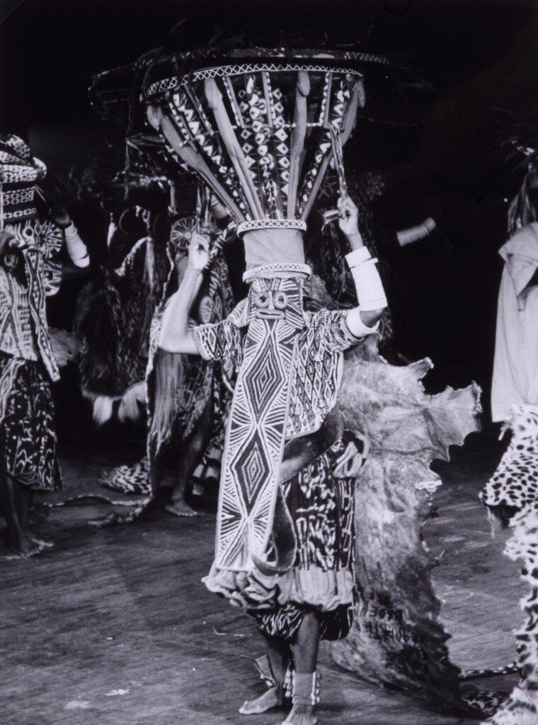 1963. Африканские танцоры