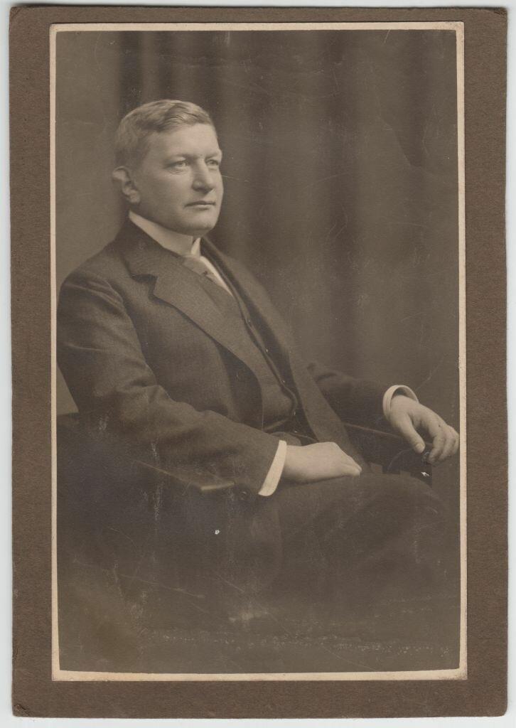 1913. Портрет Гвидо Майделл перед свадьбой. Бреслау