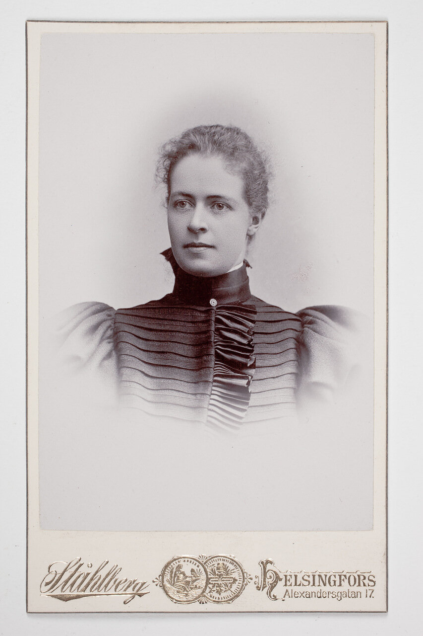 Гертруда Прокопа. 1903