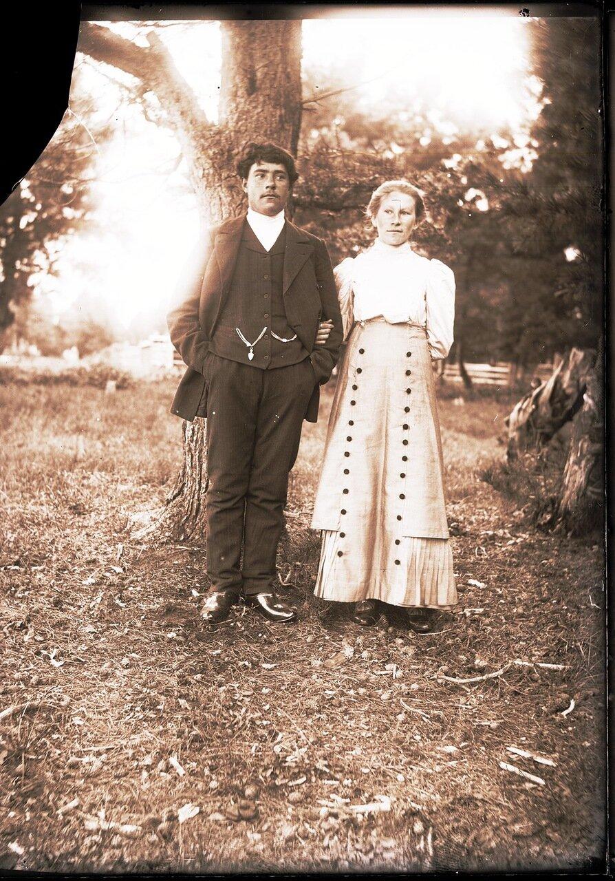 1912. Село Ларьяк. Сургутяне, переселившиеся в село