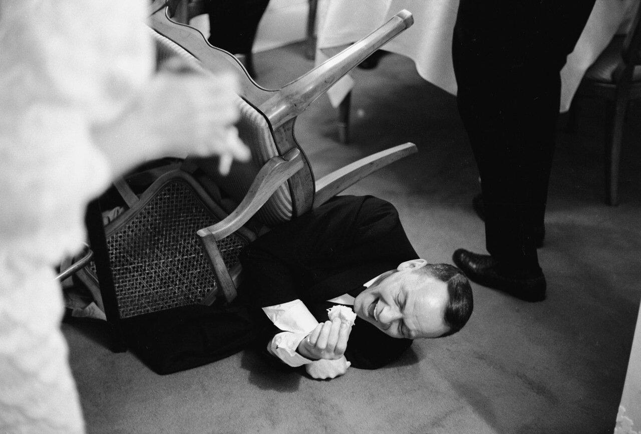 1965. Фрэнк Синатра на сцене