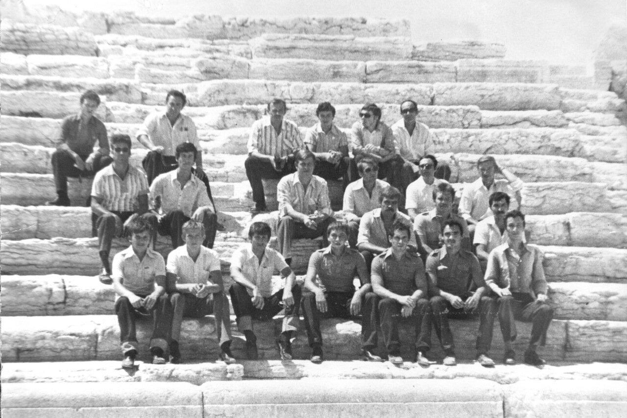 1980. Сирия. Группа Ан 12 ППС