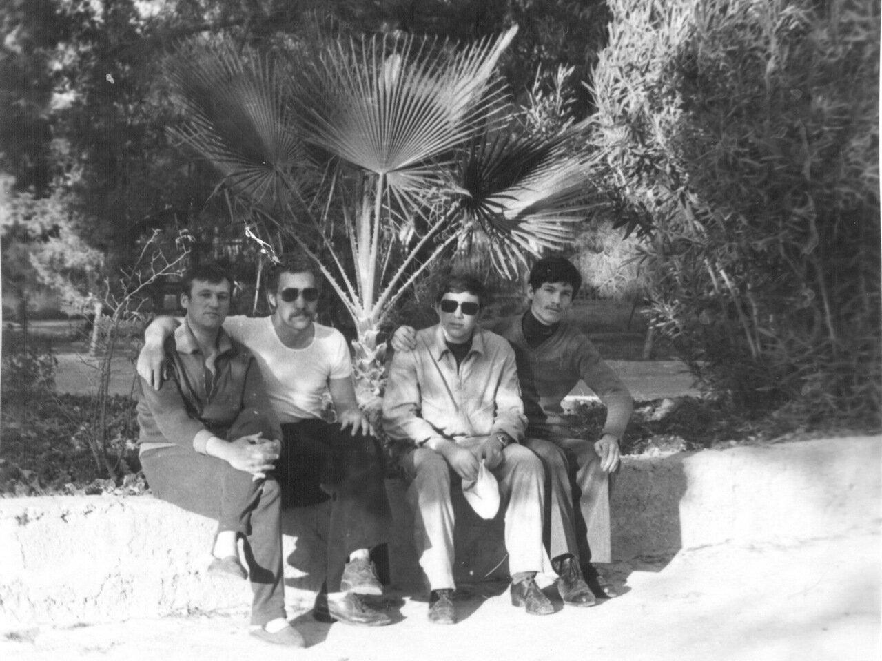 1980. Сирия. Фещенко, техник, Букатин, переводчик