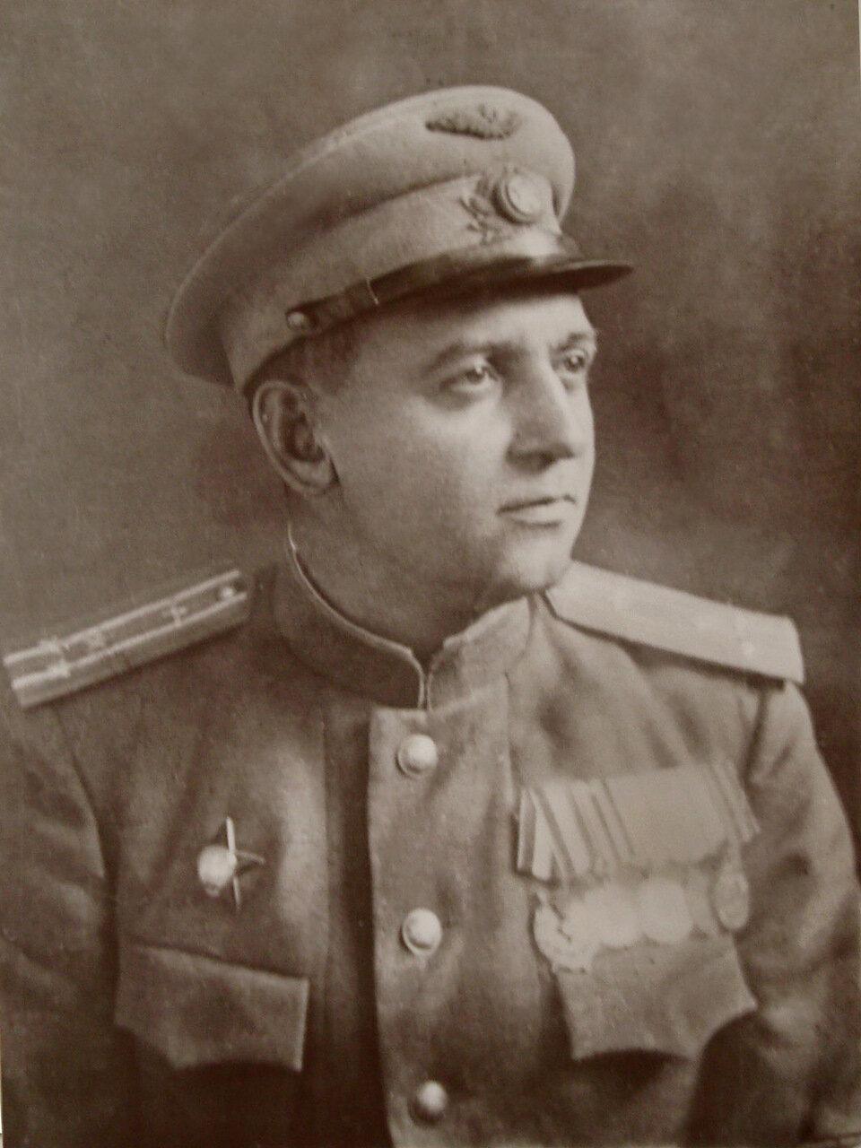 1938-1942. Филиппов Иван Васильевич, ком.АП.