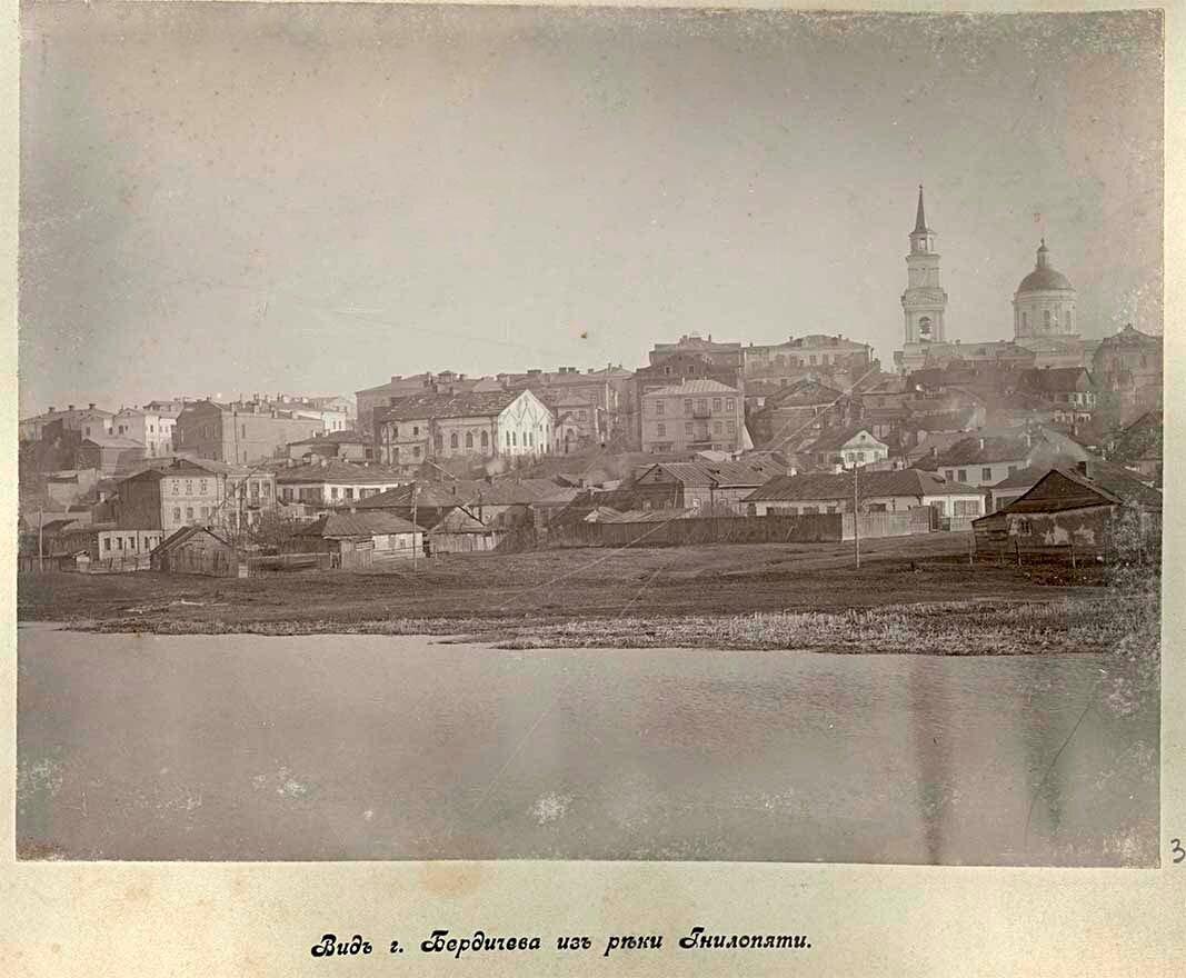 Вид города с реки Гнилопяти