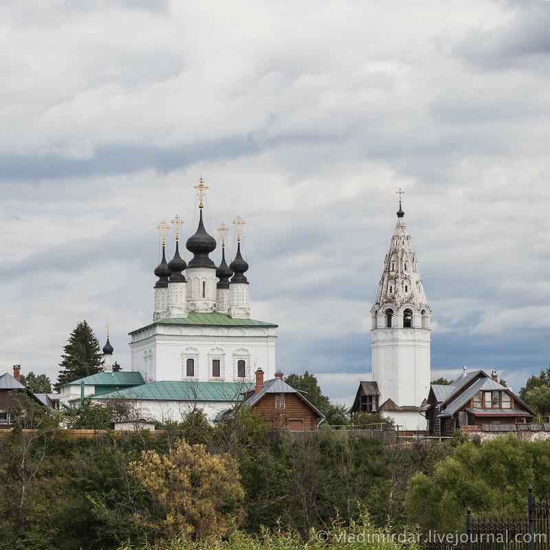 Александровский монастырь. Вознесенская церковь. Суздаль.