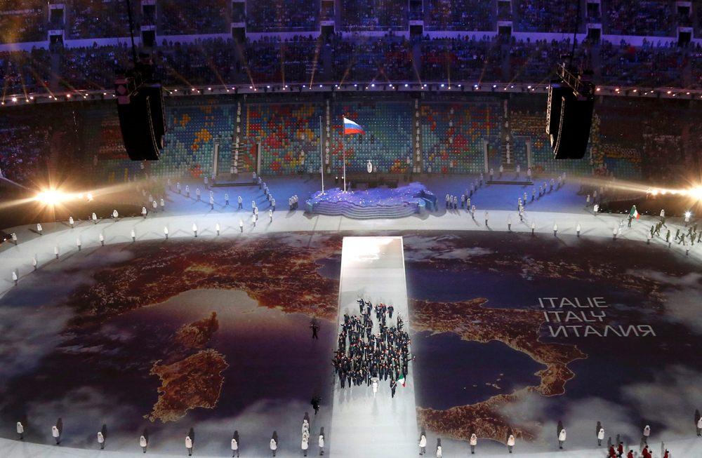 Открытие Олимпиады глазами западных журналистов