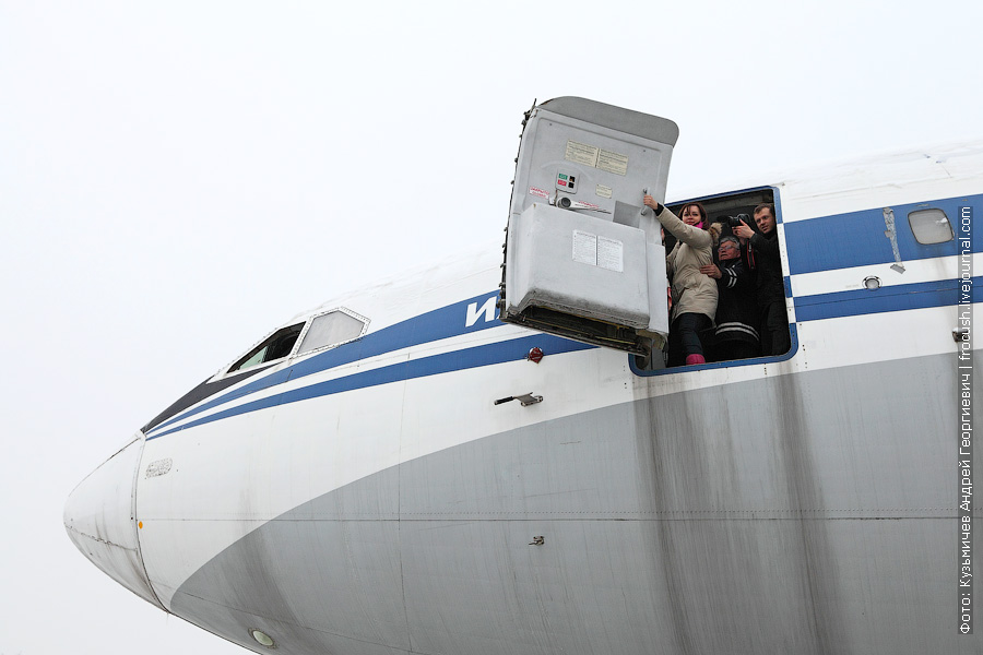 Ил-86 RA-86103 УАТЦ МГТУ ГА Шереметьево