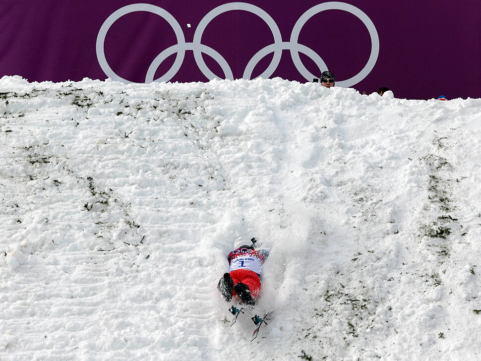 Olympic crashes