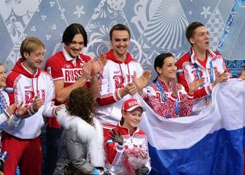 Фигуристы принесли России первое золото на олимпиаде в Сочи
