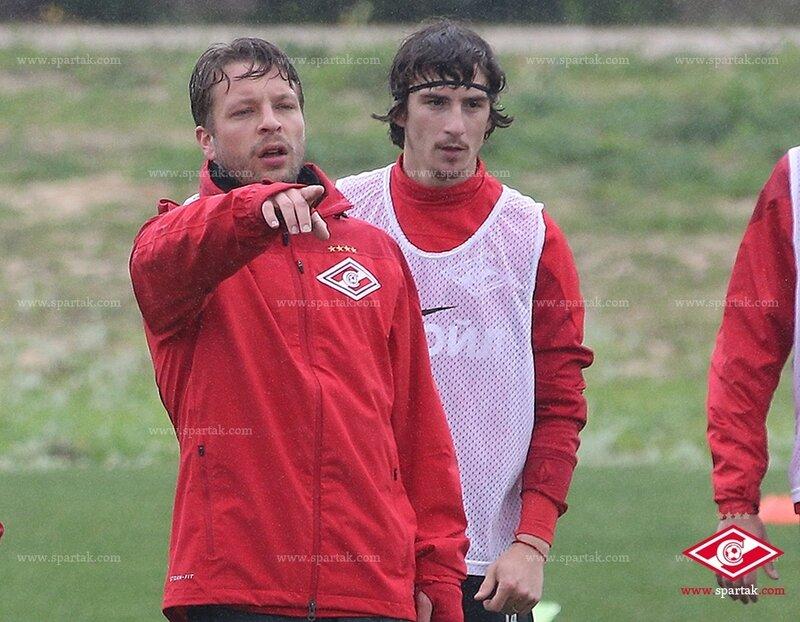 «Спартак» тренируется в Португалии (Фото)
