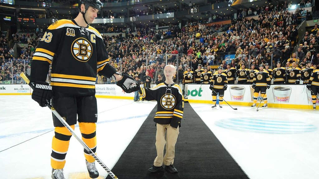 Sam Berns was a Boston Bruins fan, and someone who made an unforgettable impression on the team.