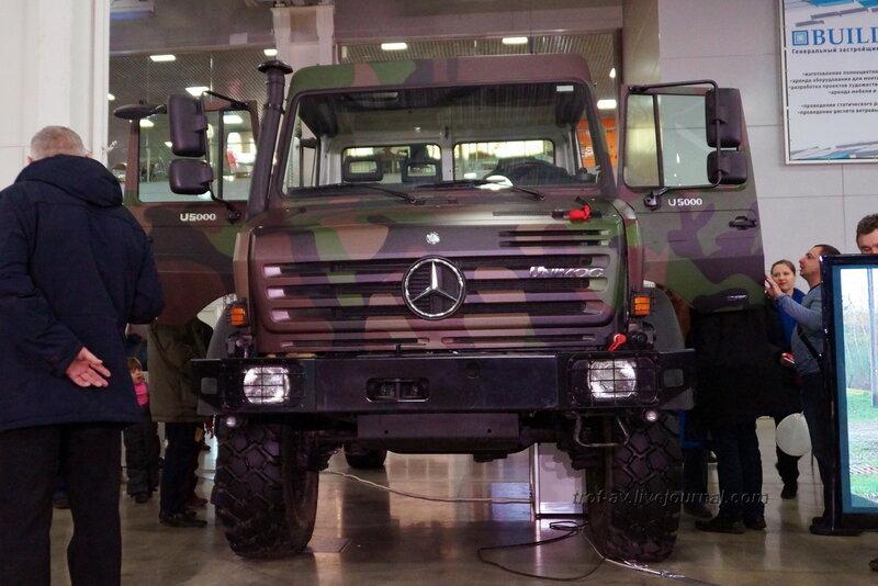 """Mercedes-Benz Unimog U5000, ,выставка """"Вездеходы-2014"""", Москва"""