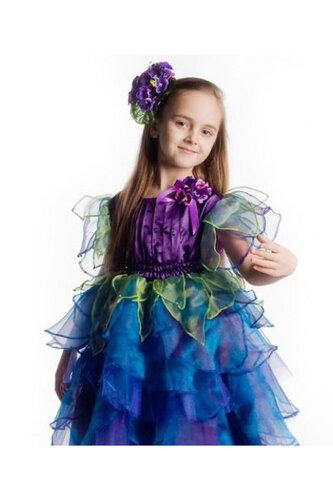 Детский карнавальный костюм Фиалка