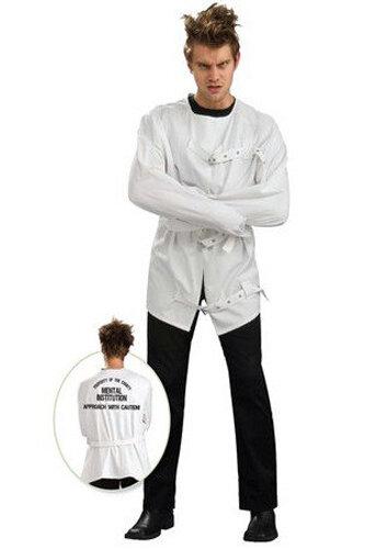 Мужской карнавальный костюм Смирительная рубашка