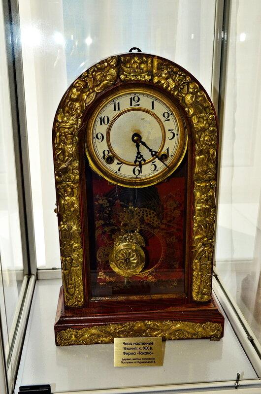 Часы настенные XIX века. Япония.
