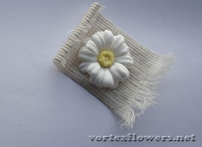 Как сделать панно из льняной ткани