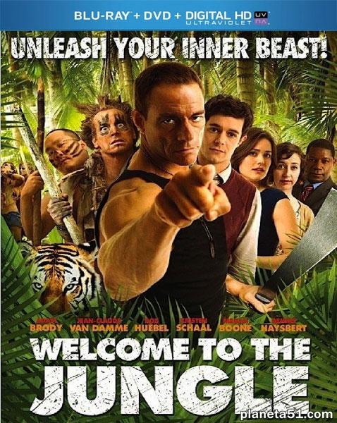 Добро пожаловать в джунгли / Welcome to the Jungle (2013/BDRip/HDRip)
