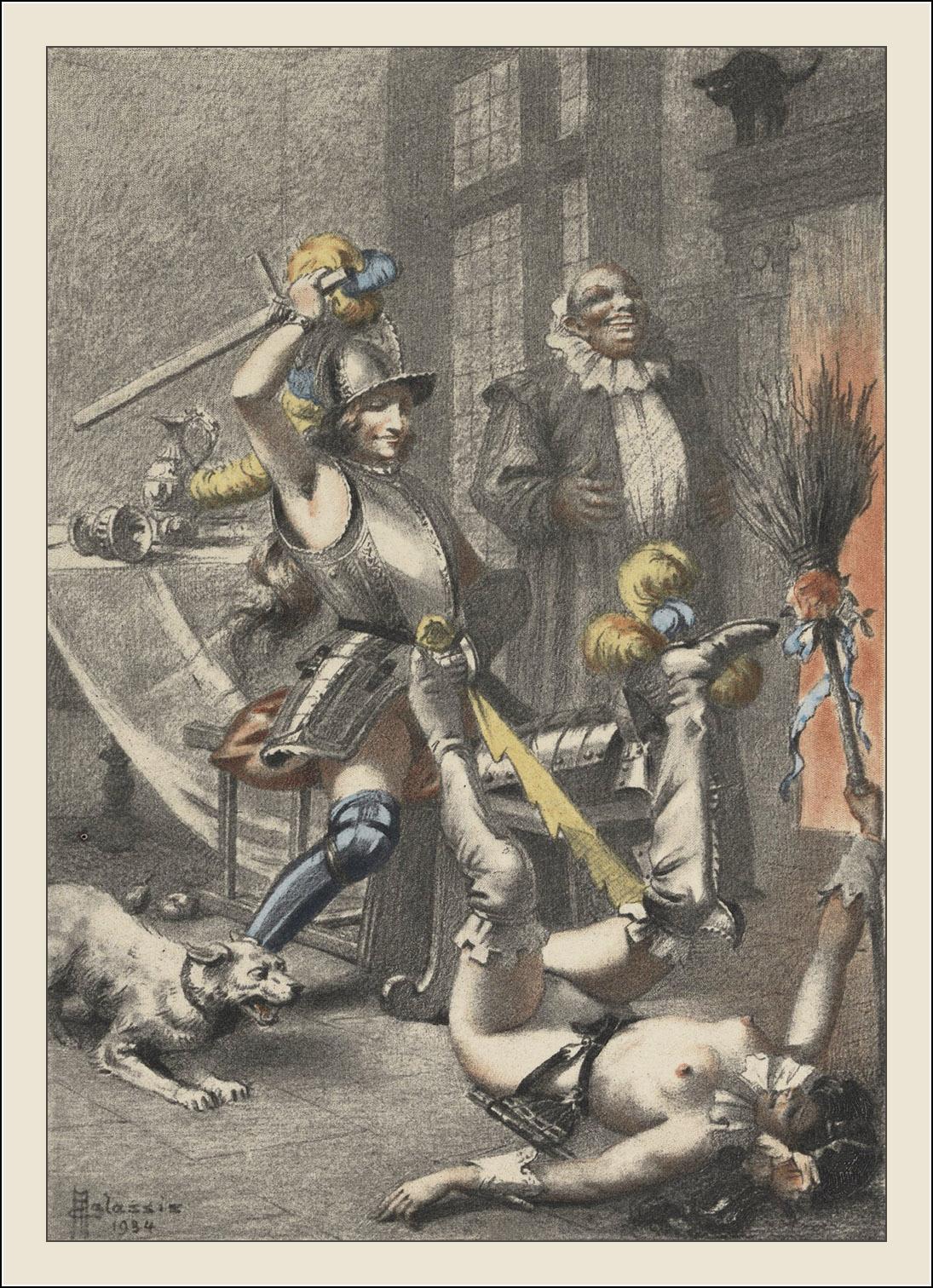 Edmond Malassis, Vies des dames galantes