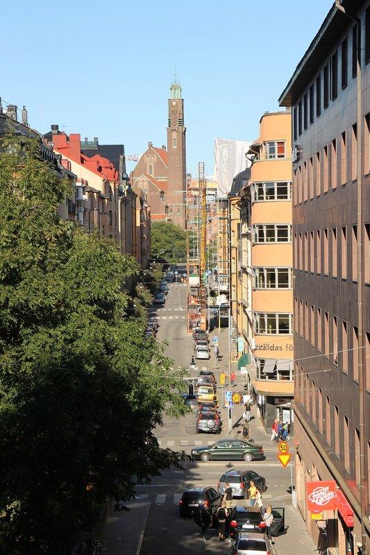 Stockholm. Stockholm, The Church Engelbrektsgatan